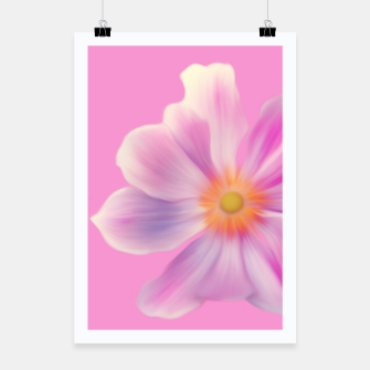 """Thumbnail image of """"PINK FLOWER"""" Plakat, Live Heroes"""