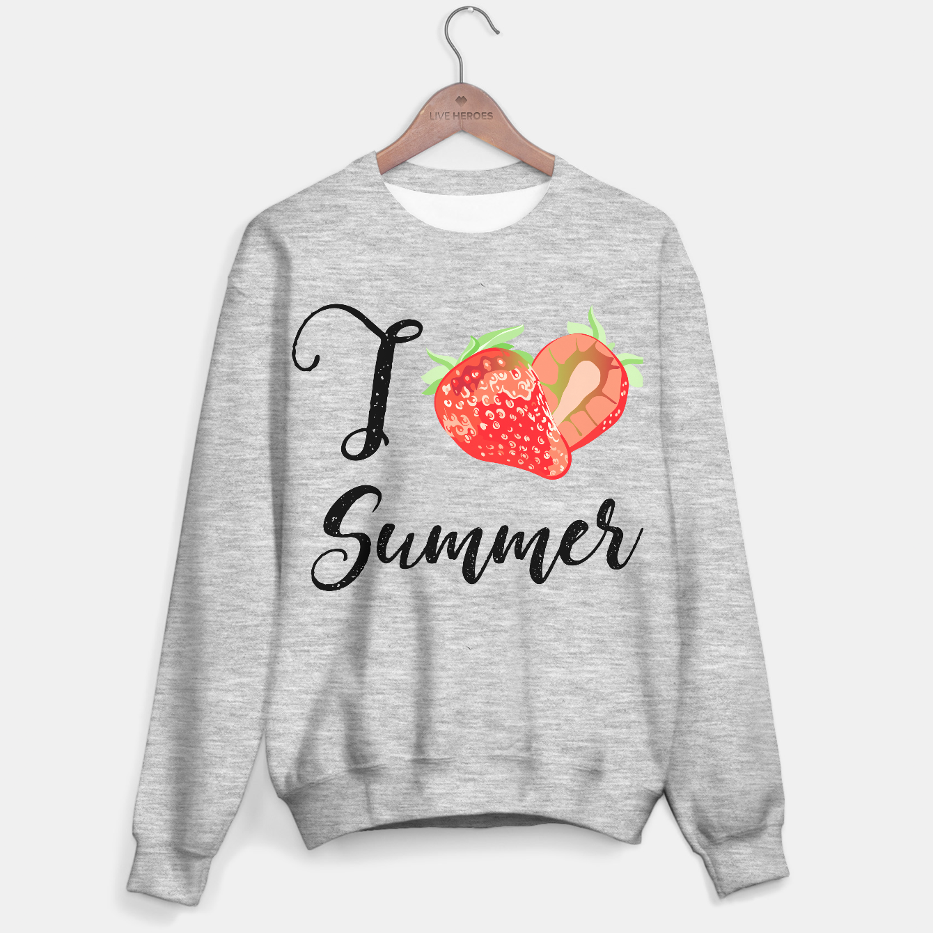 Zdjęcie I love Summer Strawberry Sweater regular - Live Heroes