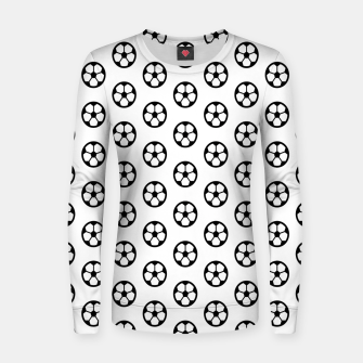 Thumbnail image of Simple Soccer Ball Motif Pattern Woman cotton sweater, Live Heroes