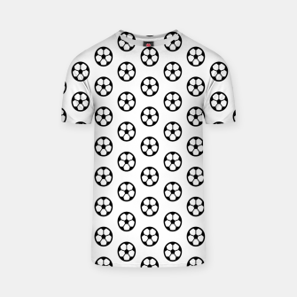 Thumbnail image of Simple Soccer Ball Motif Pattern T-shirt, Live Heroes