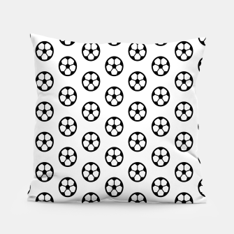 Thumbnail image of Simple Soccer Ball Motif Pattern Pillow, Live Heroes