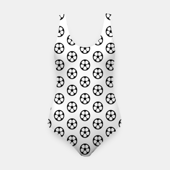 Thumbnail image of Simple Soccer Ball Motif Pattern Swimsuit, Live Heroes