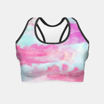 Thumbnail image of Beautiful Abstract paint Crop Top, Live Heroes