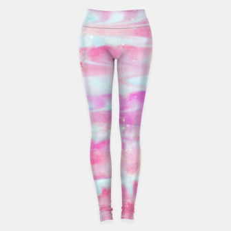 Thumbnail image of Beautiful Abstract paint Leggings, Live Heroes