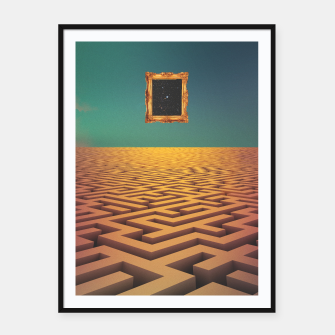 Thumbnail image of Laberinto Framed poster, Live Heroes