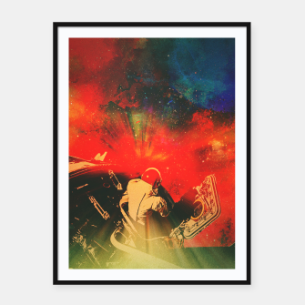Thumbnail image of Psychonaut Framed poster, Live Heroes