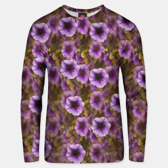 Miniatur The sky is not the limit for a floral delight Cotton sweater, Live Heroes