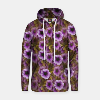 Miniatur The sky is not the limit for a floral delight Cotton hoodie, Live Heroes