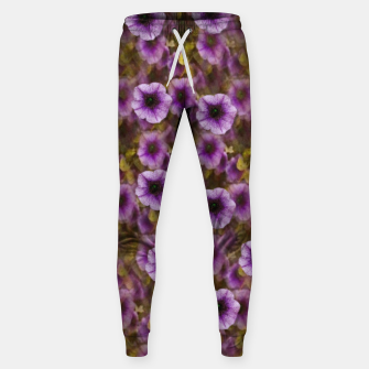 Miniatur The sky is not the limit for a floral delight Cotton sweatpants, Live Heroes