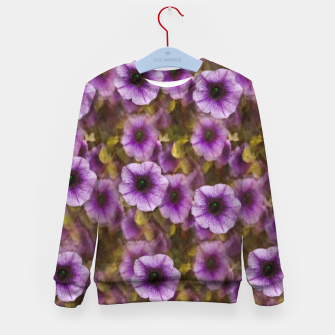 Miniatur The sky is not the limit for a floral delight Kid's sweater, Live Heroes