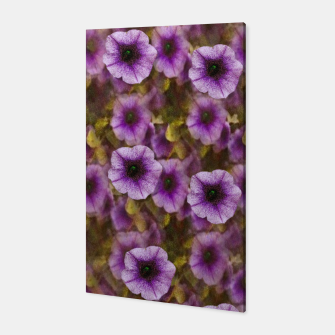 Miniatur The sky is not the limit for a floral delight Canvas, Live Heroes