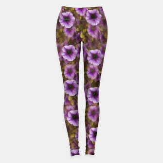 Miniatur The sky is not the limit for a floral delight Leggings, Live Heroes