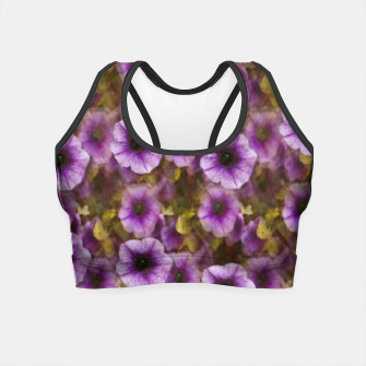 Miniatur The sky is not the limit for a floral delight Crop Top, Live Heroes