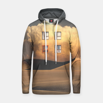 Thumbnail image of Looking Out Cotton hoodie, Live Heroes