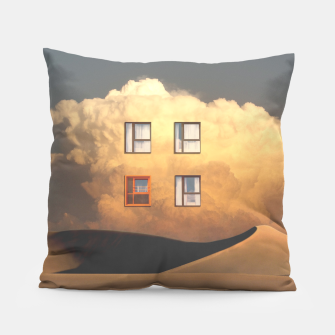 Thumbnail image of Looking Out Pillow, Live Heroes