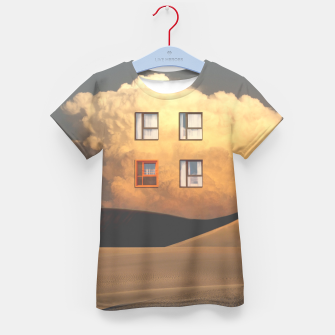 Thumbnail image of Looking Out Kid's t-shirt, Live Heroes