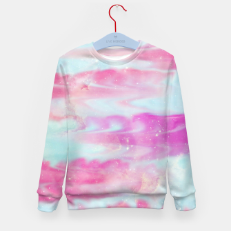 Thumbnail image of Beautiful Abstract paint Kid's sweater, Live Heroes