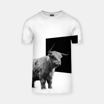 Thumbnail image of Space Yak T-shirt, Live Heroes