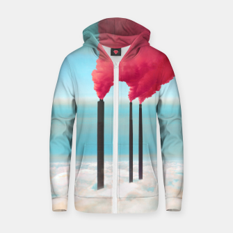 Thumbnail image of Save the Environment Cotton zip up hoodie, Live Heroes
