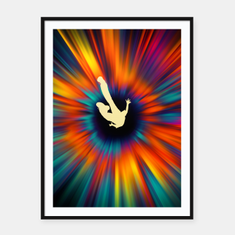 Miniatur The Black Hole Framed poster, Live Heroes