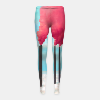 Thumbnail image of Save the Environment Girl's leggings, Live Heroes