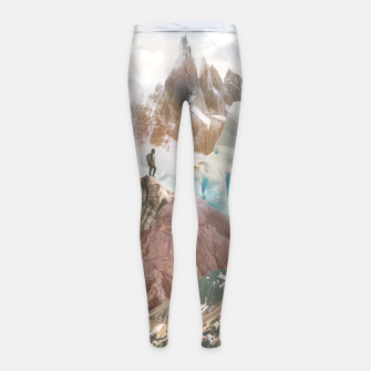 Miniatur The Explorer Girl's leggings, Live Heroes