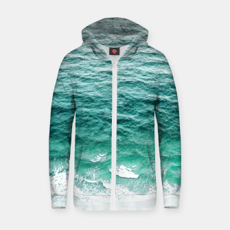 Thumbnail image of Maritime Cotton zip up hoodie, Live Heroes