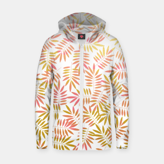 Thumbnail image of Rosa  Cotton zip up hoodie, Live Heroes