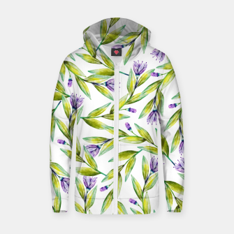 Thumbnail image of Nouveau dé part Cotton zip up hoodie, Live Heroes