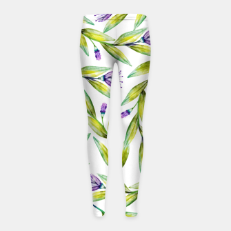 Thumbnail image of Nouveau dé part Girl's leggings, Live Heroes