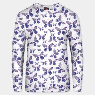 Thumbnail image of Butterfly Drawing Pattern Cotton sweater, Live Heroes