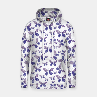 Thumbnail image of Butterfly Drawing Pattern Cotton hoodie, Live Heroes