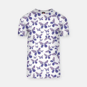Thumbnail image of Butterfly Drawing Pattern T-shirt, Live Heroes