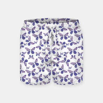 Thumbnail image of Butterfly Drawing Pattern Swim Shorts, Live Heroes