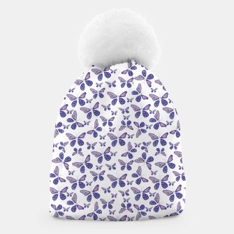 Thumbnail image of Butterfly Drawing Pattern Beanie, Live Heroes