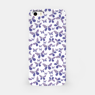 Thumbnail image of Butterfly Drawing Pattern iPhone Case, Live Heroes
