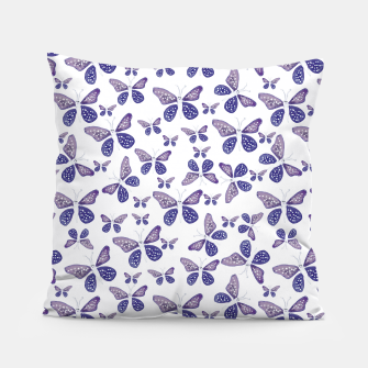 Thumbnail image of Butterfly Drawing Pattern Pillow, Live Heroes