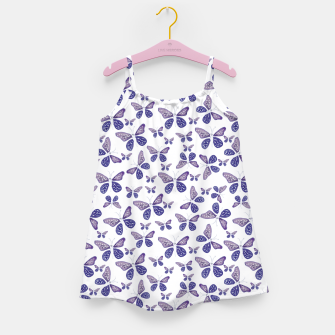 Thumbnail image of Butterfly Drawing Pattern Girl's dress, Live Heroes
