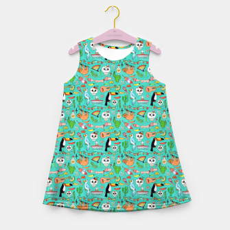 Miniatur Viva Mexico – Girl's summer dress, Live Heroes