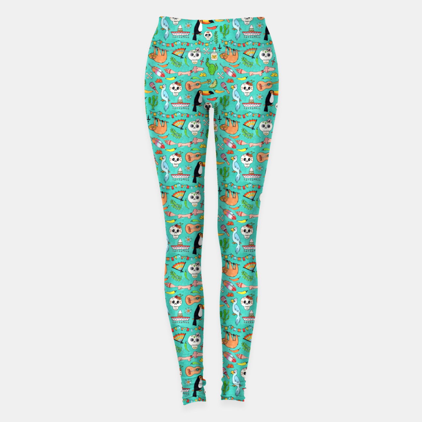 Image of Viva Mexico – Leggings - Live Heroes