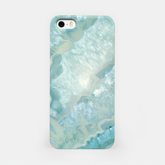 "Miniaturka ""Aquamarine Pastel and Teal Agate Crystal"" Carcasa por Iphone, Live Heroes"