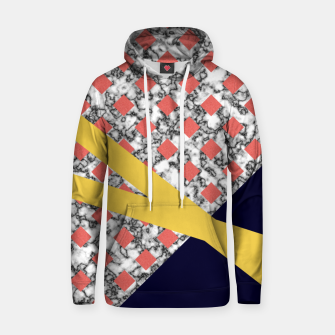 Miniaturka Geometric Composition Cotton hoodie, Live Heroes