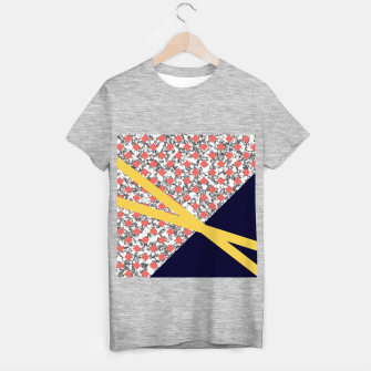 Thumbnail image of Geometric Composition T-shirt regular, Live Heroes
