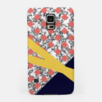 Miniaturka Geometric Composition Samsung Case, Live Heroes