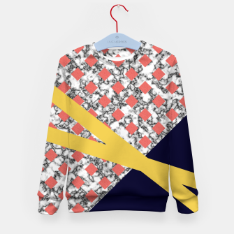 Miniaturka Geometric Composition Kid's sweater, Live Heroes