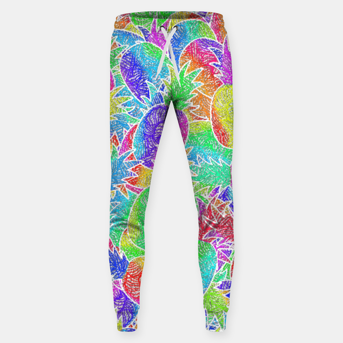 Image of ananas Cotton sweatpants - Live Heroes
