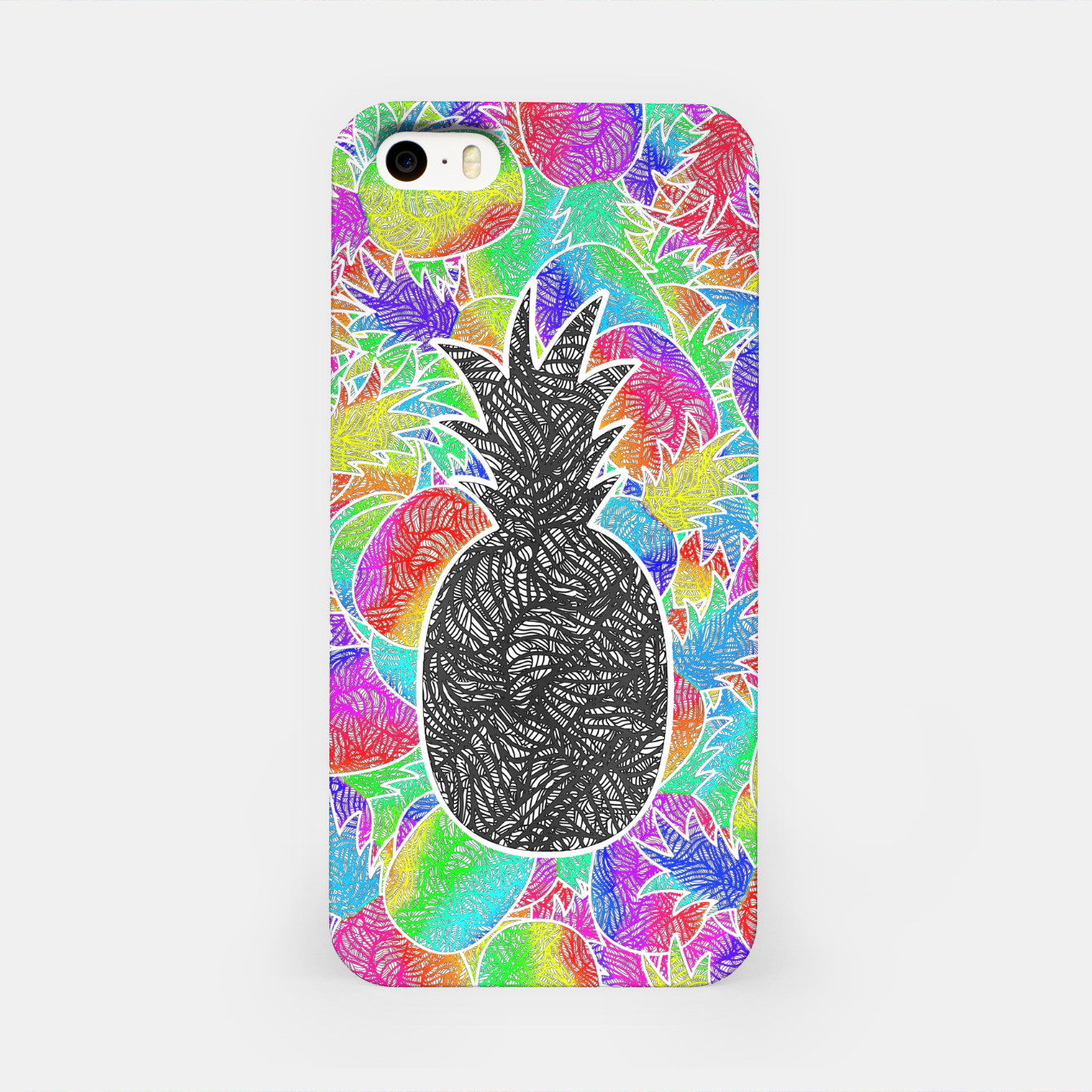 Image of ananas iPhone Case - Live Heroes