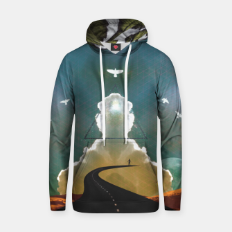 Enlightenment Cotton hoodie Bild der Miniatur