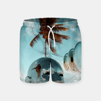 Miniatur Ancient Technology Swim Shorts, Live Heroes