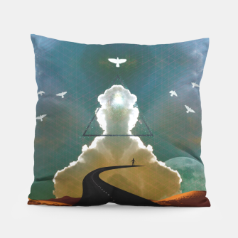 Miniatur Enlightenment Pillow, Live Heroes